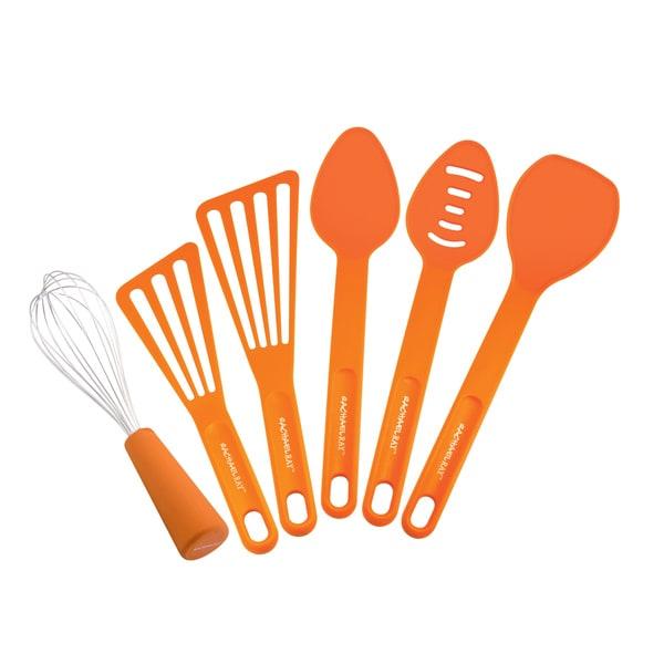 Rachael Ray 6-piece Orange Tool Set 10854067