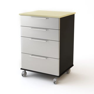 Garage Roll-away 4-drawer Cart