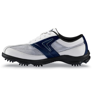Callaway Men's 'C-Tech Summer' White/ Blue Golf Shoes