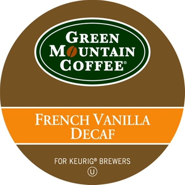 Green Mountain Coffee French Vanilla Decaf for Keurig Brewers (96 K-Cups)