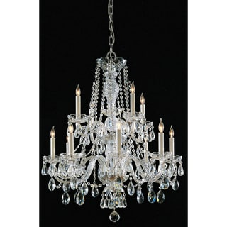 Maria Theresa 12-light Chandelier in Chrome