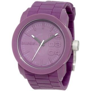 Diesel Purple 'Domination' Silicone Watch