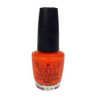 OPI Y'All Come Back Ya Hear Orange Nail Lacquer