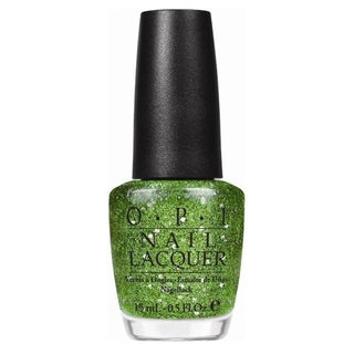 OPI Muppets Fresh Frog Of Bel Air Green Glitter Nail Lacquer
