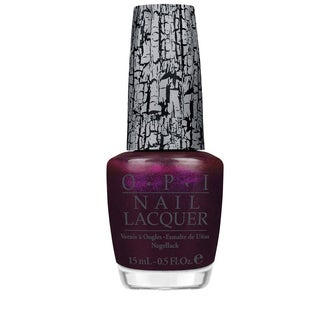 OPI Nicki Minaj Super Bass Shatter Purple Nail Lacquer
