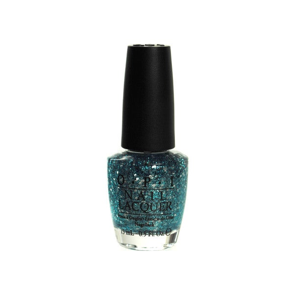 OPI The Muppets Gone Gonzo! Blue Glitter Nail Lacquer
