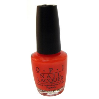 OPI Guy Meets Gal Veston Red Nail Lacquer