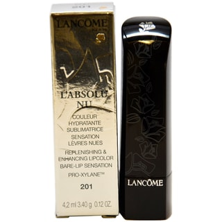 Lancome L'Absolu Nu Replenishing and Enhancing #201 Beige De Soie Lipcolor