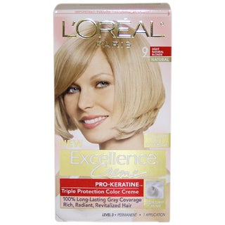 L'Oreal Excellence Creme Pro-Keratine #9 Light Natural Blonde Hair Color