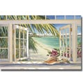 Kathleen Denis 'Room with a View' Canvas Art