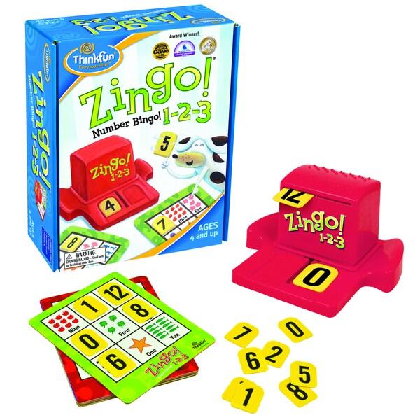 Zingo 1-2-3 Game