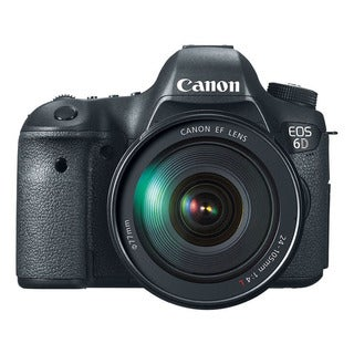 Canon EOS 6D 20.2MP Digital SLR Camera with 24-105mm IS Lens Kit
