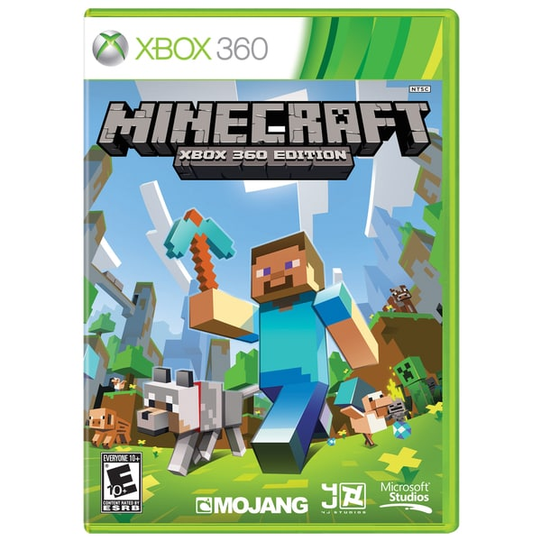 Xbox 360 - Minecraft: Xbox 360 Edition–Overstock.com-Cash Back