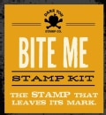 Bite Me Stamp Kit: The Definitive Stamp That Leaves Its Mark (Other book format)