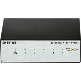 D-Link GO-SW-5GE 5-Port Gigabit Unmanaged Metal Desktop Switch