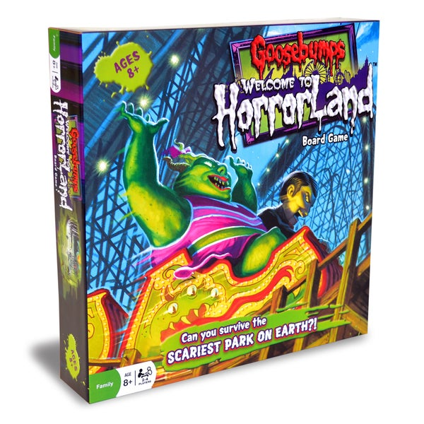Goosebumps Welcome to Horrorland Game
