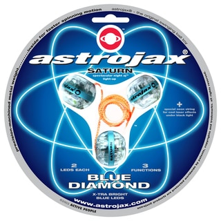 Astrojax Saturn Blue Diamond Strobe Light Balls
