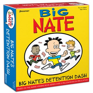 Big Nate's Detention Dash Game