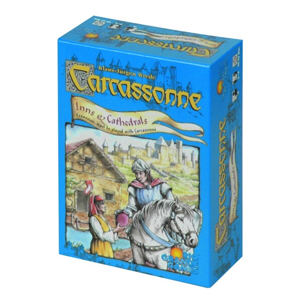 Carcassonne: Inns and Cathedrals Expansion Set