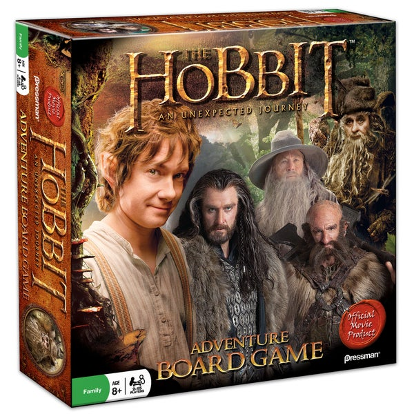 The Hobbit An Unexpected Journey Adventure Board Game