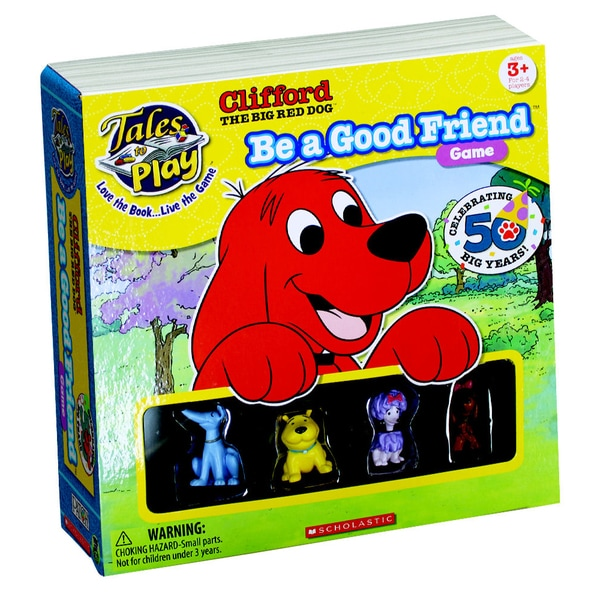 Clifford the Big Red Dog Be a Good Friend Game