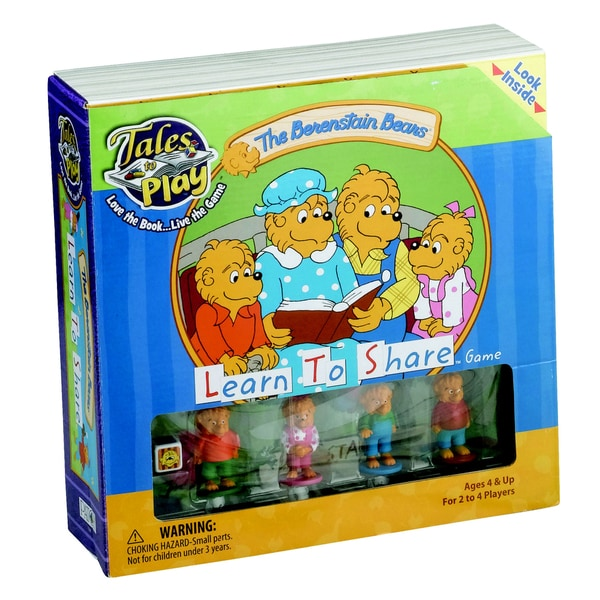 The Berenstain Bears Learn to Share Game | Board Game ...
