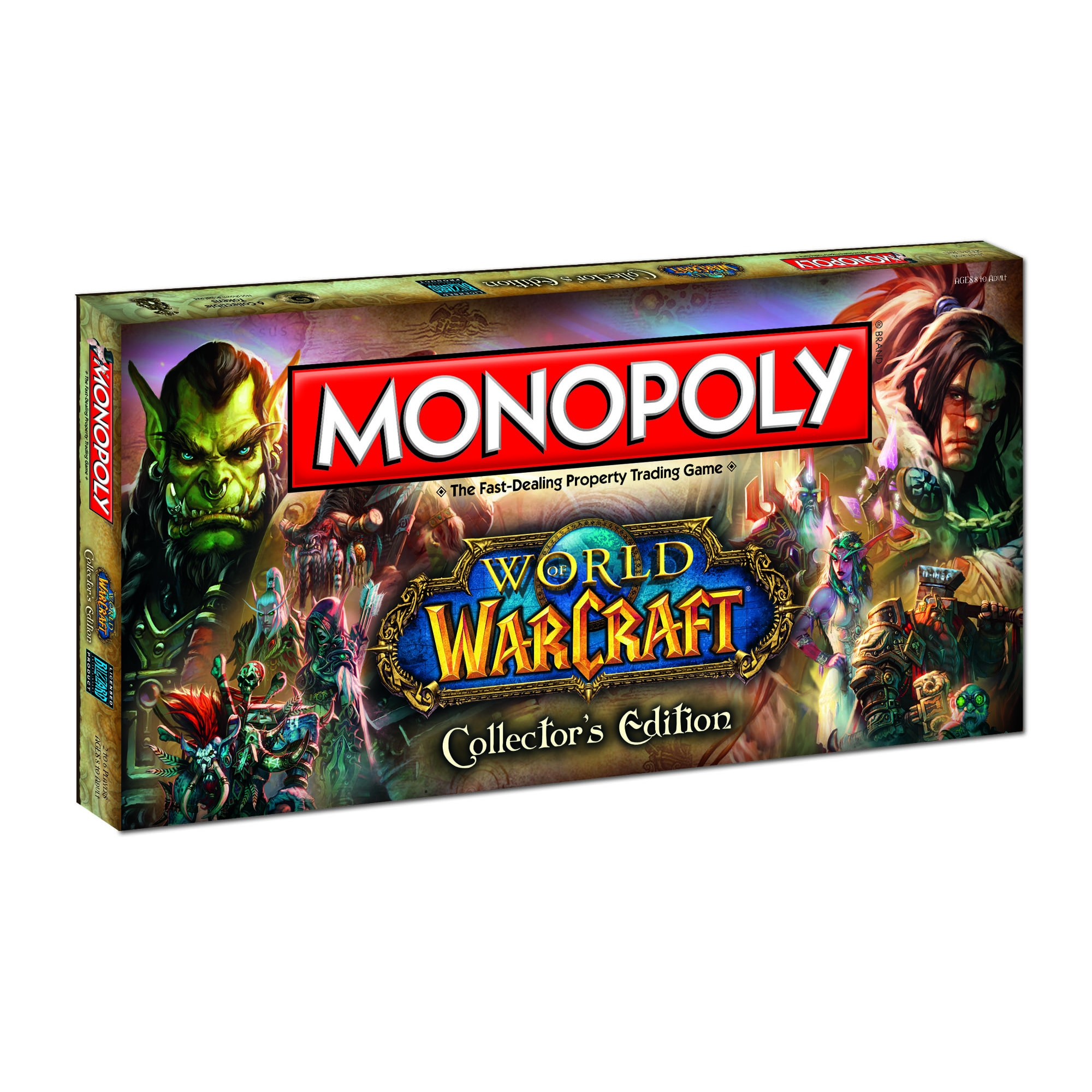 USAopoly Monopoly World of Warcraft Collector's Edition Game at Sears.com