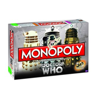 Monopoly Doctor Who 50th Anniversary Collector's Edition Game