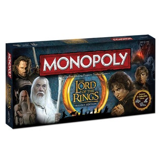 Monopoly The Lord of the Rings Trilogy Edition Game