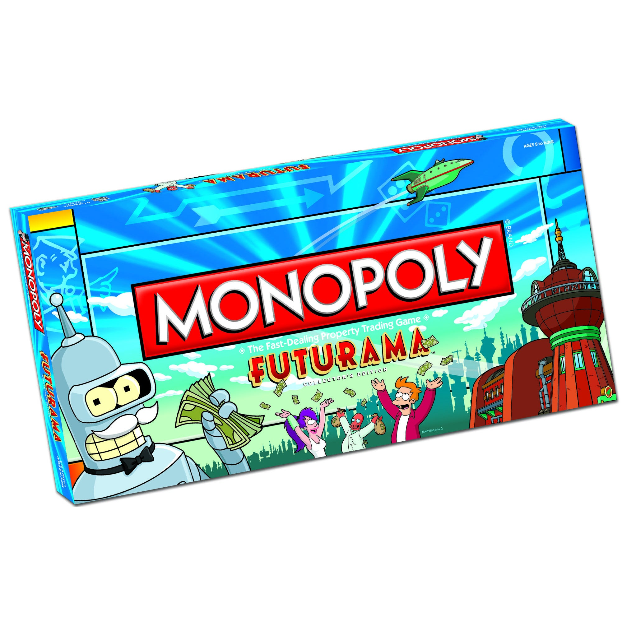 USAopoly Monopoly Futurama Collector's Edition Game at Sears.com