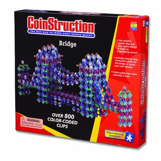 Coinstruction Bridge Building Set
