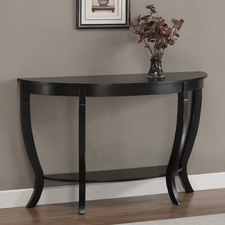 Lewis Distressed Black Sofa Table