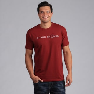 Black Clover Men's Red 'Impress' T-Shirt