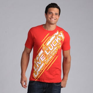 Black Clover Men's Red 'Lucky Blur' T