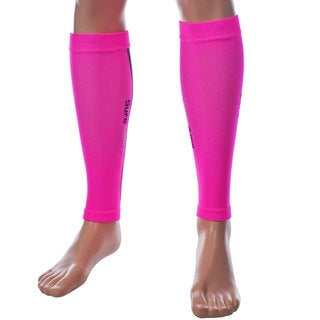 Remedy Pink Compression Running Calf Sleeves