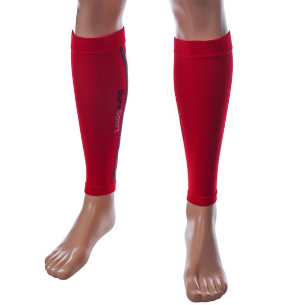 Remedy Red Compression Running Calf Sleeves
