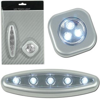 Trademark Home 2-piece Touch Light Set with Mounts