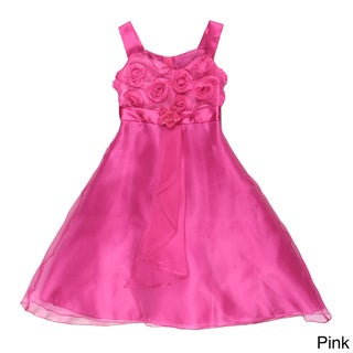 Paulinie Collection Girls' Bodice Dress