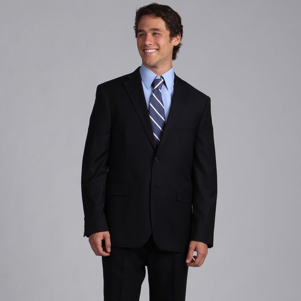 Nautica Men's Navy Herringbone Suit Separate Jacket