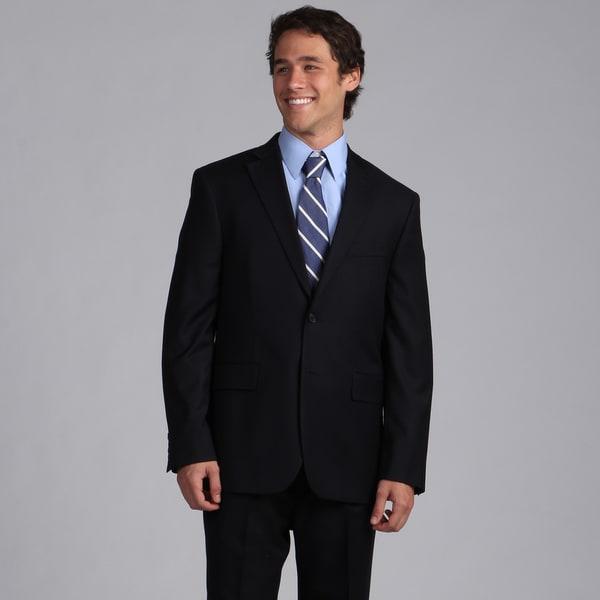 Nautica Men's Navy Herringbone Suit Separate Jacket
