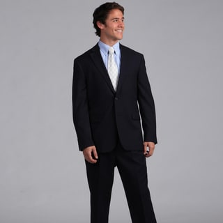 Nautica Men's Navy Narrow Stripe 2-piece Suit