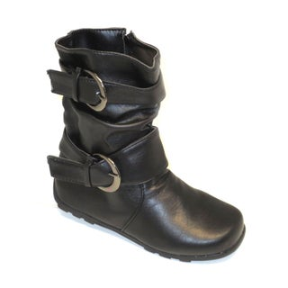 Blue Children's K-Katrina Buckled Boots