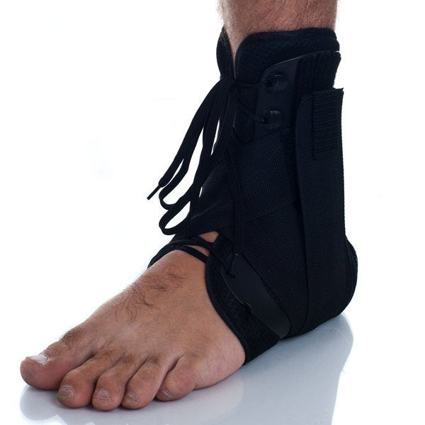 Remedy Premium Shelled Lace-up Ankle Brace