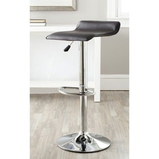 Safavieh Sheba Brown Adjustable Height Swivel Bar Stool