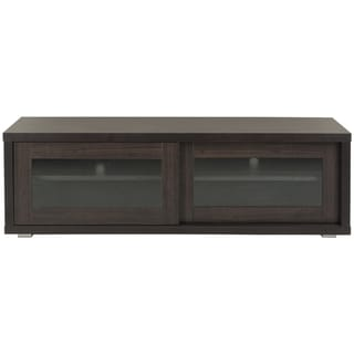 Safavieh Lincoln Storage Dark Brown Sliding Door TV Cabinet