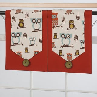 Design Your Valance Owl City 2-Panel Valances