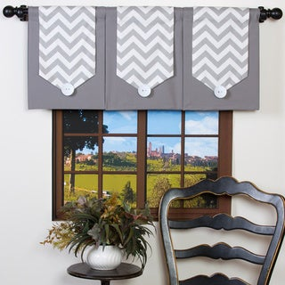 Design Your Valance Chevron 3-Panel