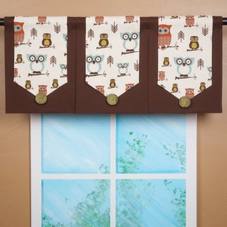 Design Your Valance Owl City 3-Panel Valance