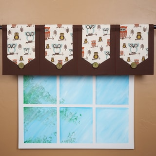 Design Your Valance Owl City 4-Panel Valance