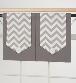 Design Your Valance Chevron 2-Panel